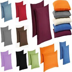 2er pack microfaser kissenbezug kissenh lle dekokissen. Black Bedroom Furniture Sets. Home Design Ideas