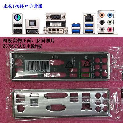 Original IO I//O Shield Back Plate BackPlate Blende Bracket for ASUS Z170-E RE