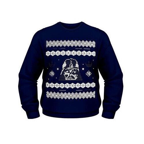 Christmas Darth Vadar Sweatshirt Star Wars Official Merchandise New