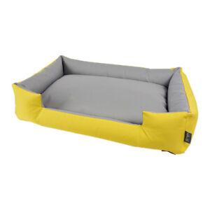 Washable Dog Sofa Yellow Pet Sleeping