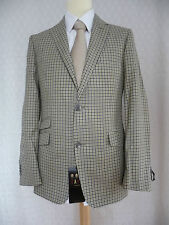 DAKS Brand New Light Brown Jacket 40R RRP £495