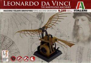 Italeri-3108-Leonardo-for-Vinci-Flying-Machine