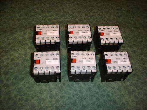 20020-B2 6 AEG SH04 Relay 24 VDC Coil