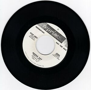 Northern-Soul-45RPM-Peter-James-auf-Reprise-Selten-Promo-Sound-Clip