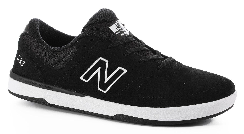 MENS MENS MENS NEW BALANCE NUMERIC 533 SKATEBOARDING scarpe NIB nero    (BLW) d1648e