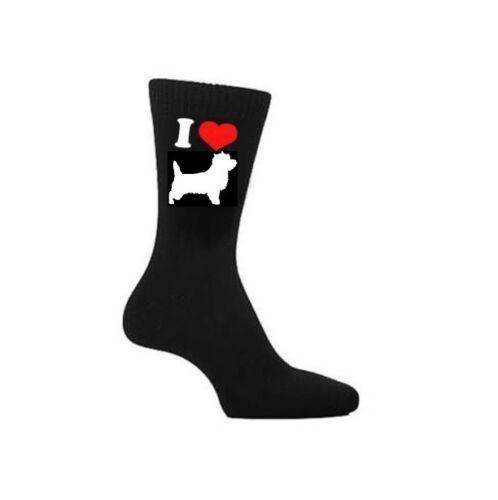 I Love Cairn Terrier Hund Socken,Steinhaufen Hundebesitzer Socken Neuheit