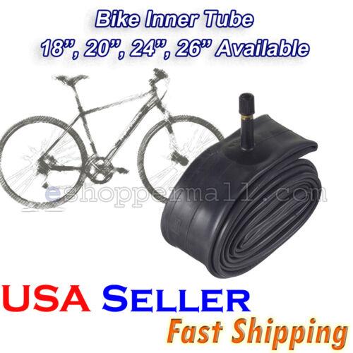 """2-Pack 26/""""x1.75 //1.95//2.125 Schrader Valve BMX Bike Tire Inner Tubes B-21647"""