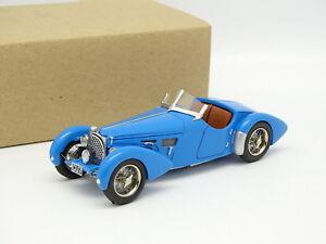 DB-Modeles-Kit-Monte-Resine-1-43-Bugatti-T57-SC-Colonel-Giles-1938-Bleue