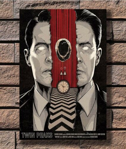 Twin Peaks US 2017 TV Series Show Vintage Poster Fabric 8x12 20x30 24x36 E-915