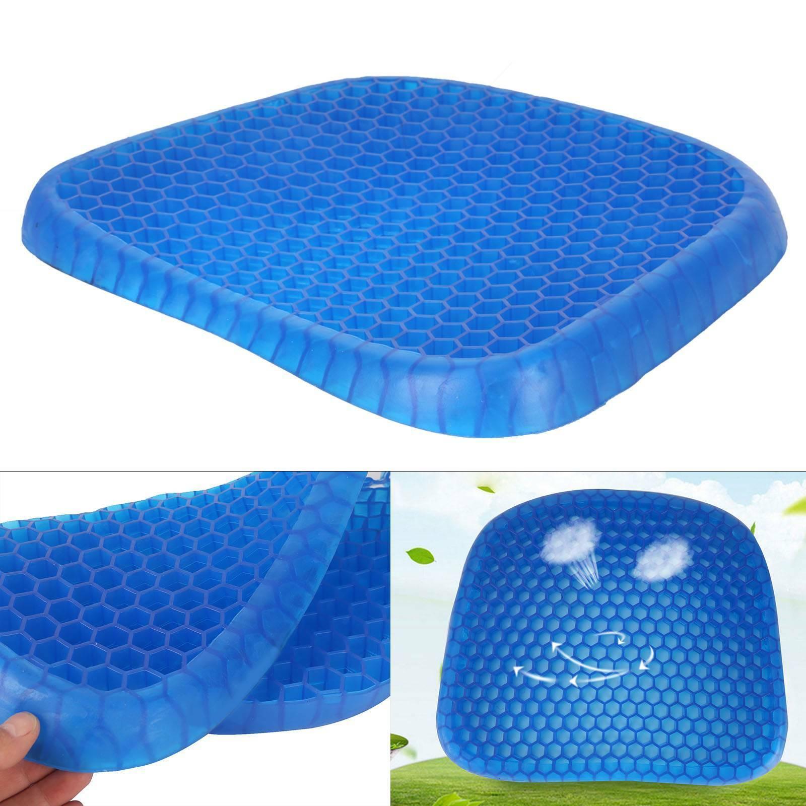 Image 1 - Comfortable-Egg-Sitting-Gel-Flex-Cushion-Seat-Sitter-Flex-Pillow-Back-Support