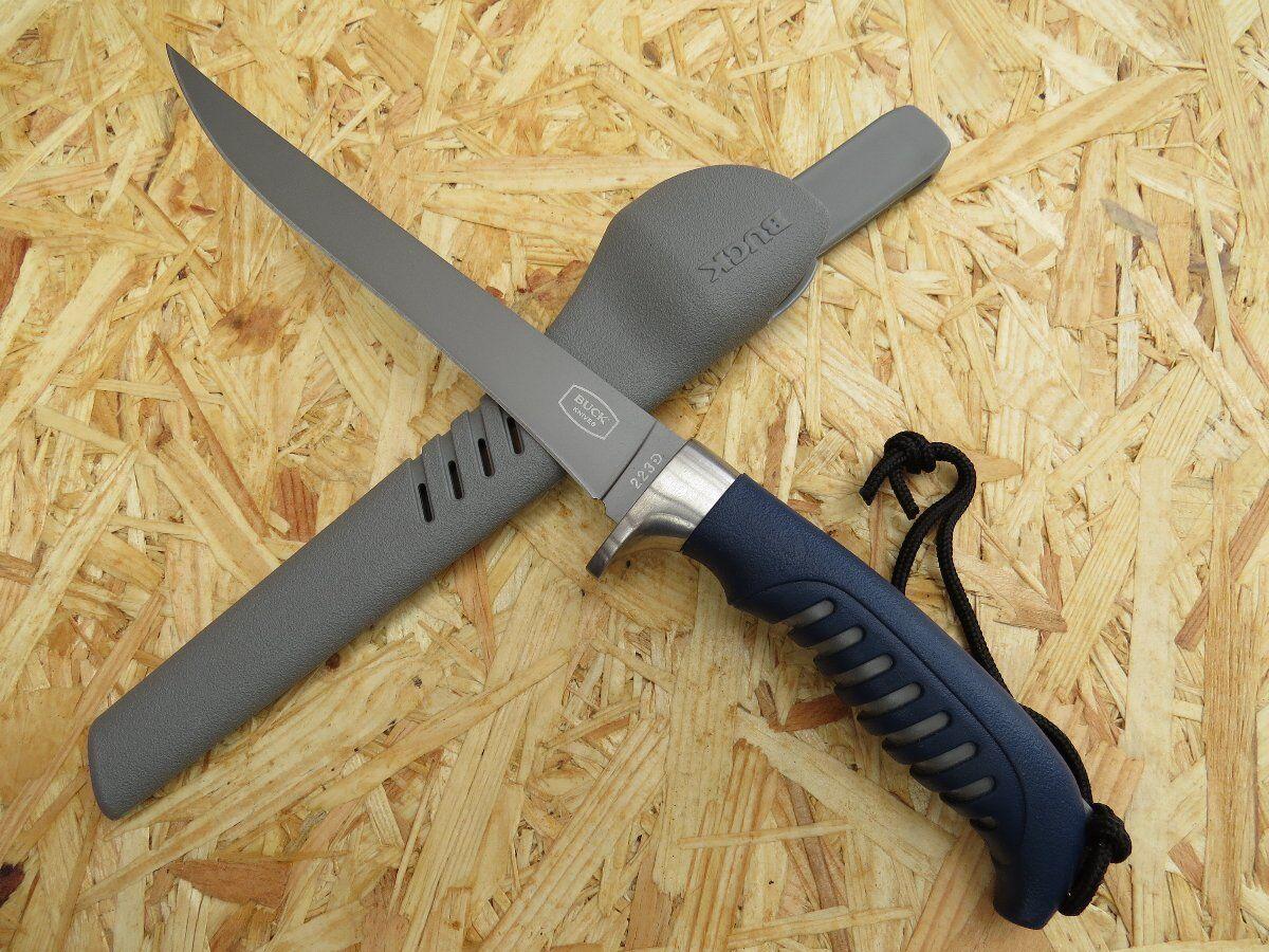 Buck Silber Creek Fillet Messer Filiermesser Filetiermesser Fischmesser 283217