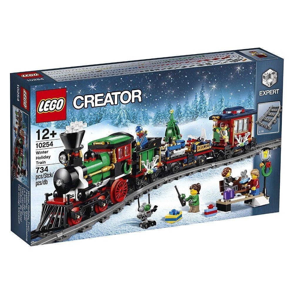 produttori fornitura diretta LEGO LEGO LEGO ® Creator 10254  luccicante weihnachtszug  Expert Ferrovia Nuovo Scatola Originale nuovo MISB  stanno facendo attività di sconto