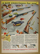 1960 Hi-Standard Supermatic & Flite-King Shotguns Sport-King .22 Rifle print Ad