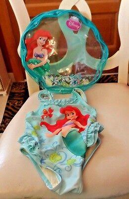 Disney Store Princess Swim Bag Girls Swimwear Accessory New