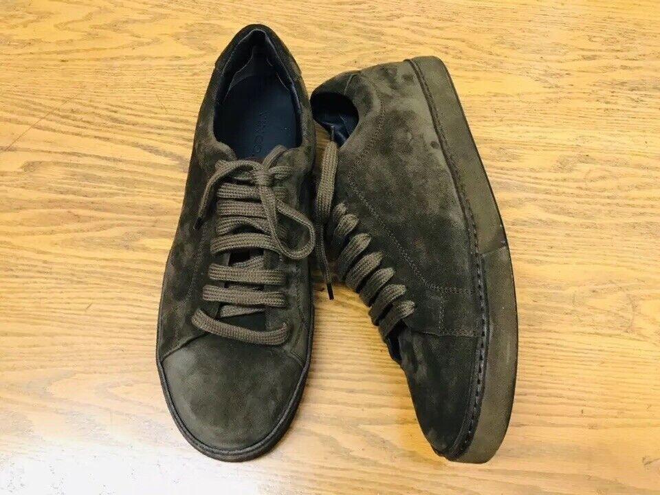 VINCE NOBLE Gamuza Con Cordones Nuevas Zapatillas Zapatos Bajo Top Talla 9.5  325.00