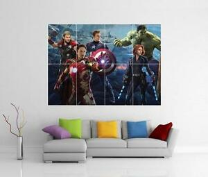 Image Is Loading The Avengers Emble 2 Age Of Ultron Giant