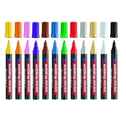 Edding 4040 Deco marker Strichbreite 1-2mm Farbe Grün Mattlackmarker