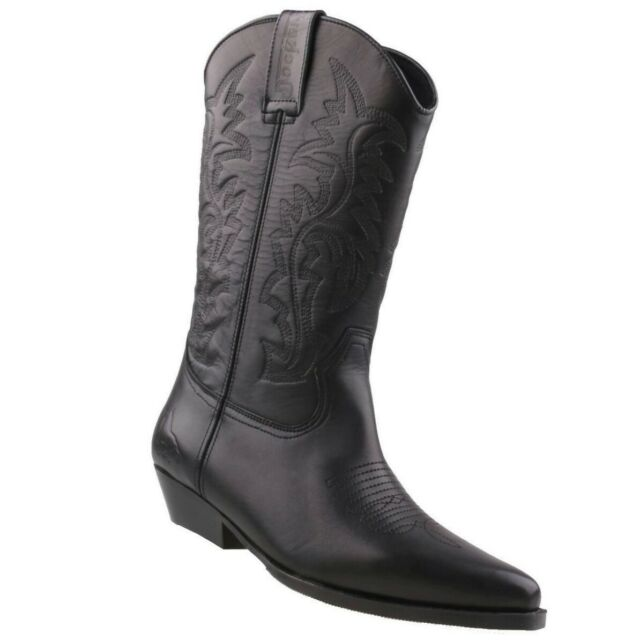 Dockers by Gerli Western Boots 43BL001 Cowboy Stiefel Schwarz