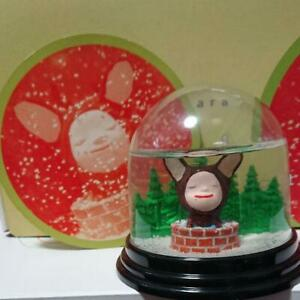 Nara-Yoshitomo-Snow-Globe-Dreaming-in-the-Fountain-2001-Rare-From-JAPAN-F-S