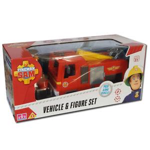 Nouveau-Sam-Le-Pompier-Jupiter-Vehicule-Et-Figurine-Set