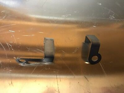 Stainless steel. Yamaha rd250lc rd350lc Rear reflector bracket