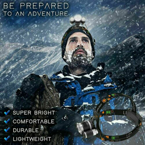 T6 LED Rechargeable Headlamp Headlight Flashlight Head TorchB/_qi