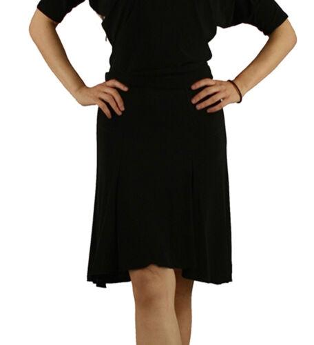 5 sizes st011 Black Women Latin Rhythm Salsa Tango Swing Social Dance Skirt