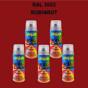 5-Spraydosen-Autolack-Qualitaet-je-400ml-RAL-3003-Rubinrot-Lackspray-Dose-3-30