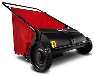 Agri Fab 45 0218 26 Inch Push Lawn Sweeper Yard Garden Cleaner