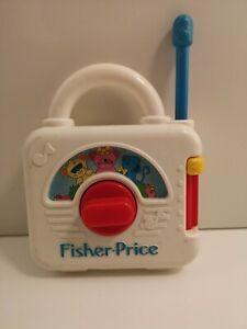 Fisher-Price-Vintage-Activity-Radio-Plays-Three-Blind-Mice-1992