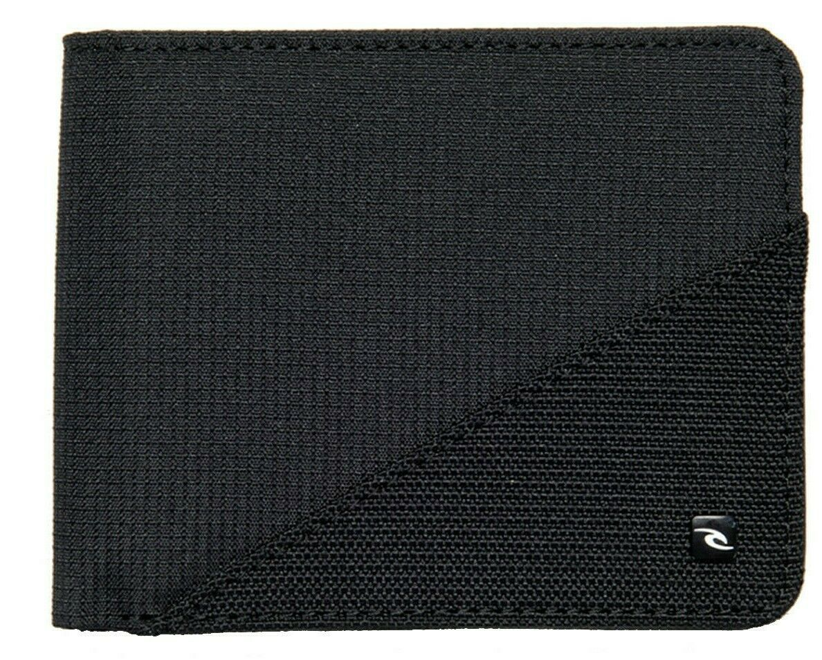 Rip Curl Ripstop PU All Day Faux Leather Wallet in Black