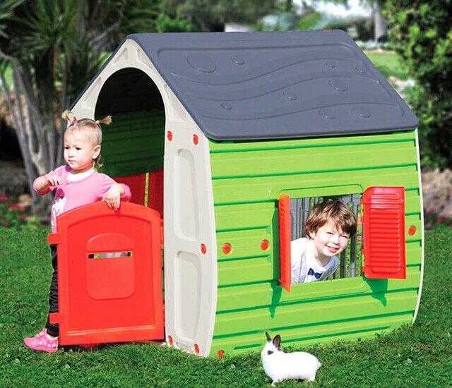Casetta gioco per bambini STARPLAST cm 102x90x109h Mod MAGICAL HOUSE