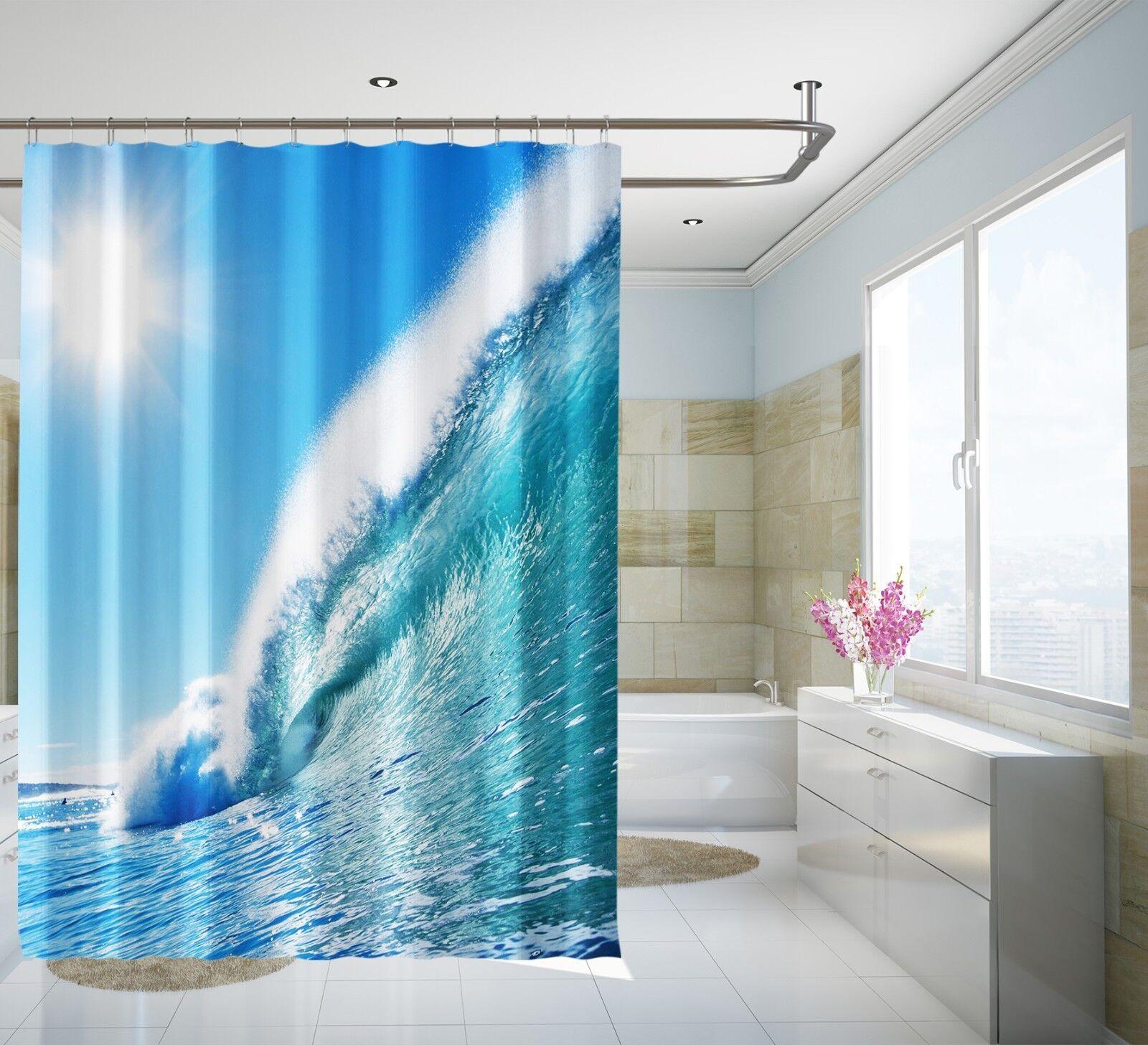 3D WAVE Sunshine 23 Tenda da doccia IMPERMEABILE Fibra Bagno WC CASA FINESTRE
