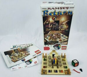 Lego-3855-Ramses-Return-Building-Buildable-Board-Game-Complete-in-Box
