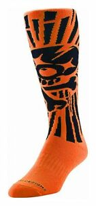 Troy-Lee-Designs-Gp-Chaussettes-Chaussettes-Skully-Orange-11-13
