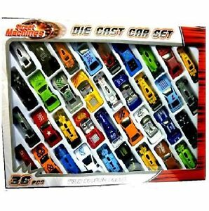 36pc-Metal-Die-Cast-Kids-Cars-Gift-Set-Xmas-F1-Racing-Vehicle-Children-Play-Toy
