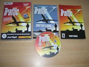 TRAFFIC-X-Pc-DVD-Rom-Add-On-Expansion-Pack-Microsoft-Flight-Simulator-Sim-X-FSX