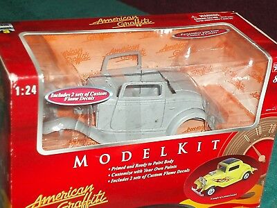 """Diecast & Toy Vehicles G Scale Motor Max 1932 Ford Model Kit 1/24 Primered Skill Level 2 """"g Scale Be Shrewd In Money Matters"""