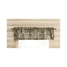 Realtree Camo Valance Camouflage Window Curtain Topper Hunting Decor 60x14 New