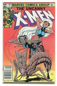 Uncanny-X-men-165-VF-1963-Marvel-Comics-Xmen1