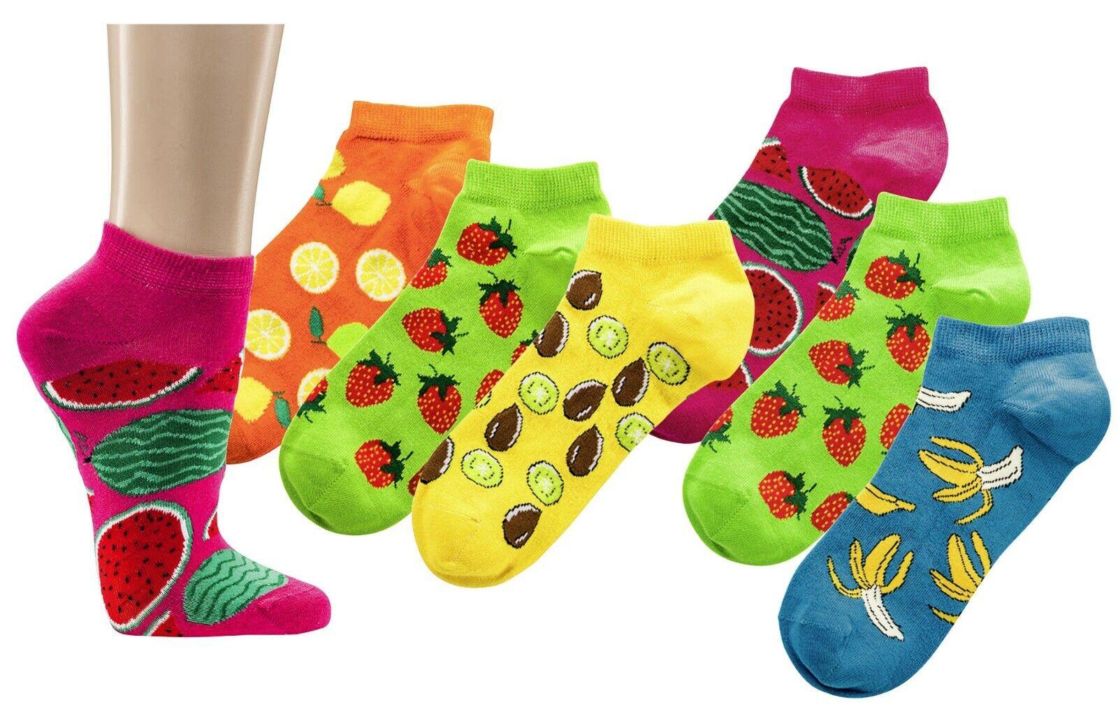 3 Paar Sneaker-Socken, Motiv