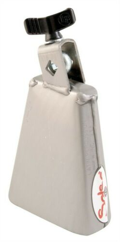NEW - Latin Percussion High Pitch Salsa Cha-Cha Cowbell - ES-2 - BRUSHED STEEL