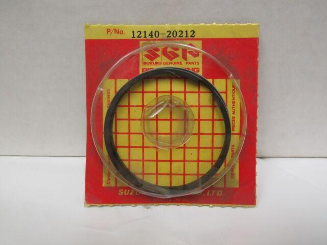 Suzuki TC 120 TC120 OEM NOS piston ring set 12140-20731 12140-20211-100 1971