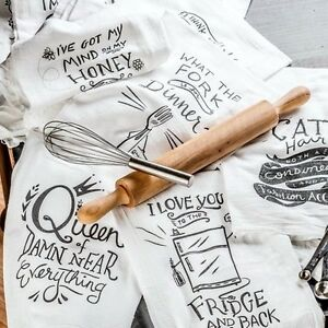 Image Is Loading Cotton Flour Sack Dish Towels Primitives By Kathy