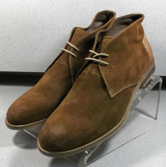 203040 MSBT50 Men's Shoes Size 8 M Brown Suede 1850 Collection Johnston Murphy