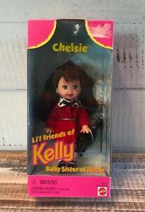 Vintage-LI-039-L-FRIENDS-OF-KELLY-CHELSIE-1997-NEW-IN-BOX-Baby-Sister-of-Barbie-Doll