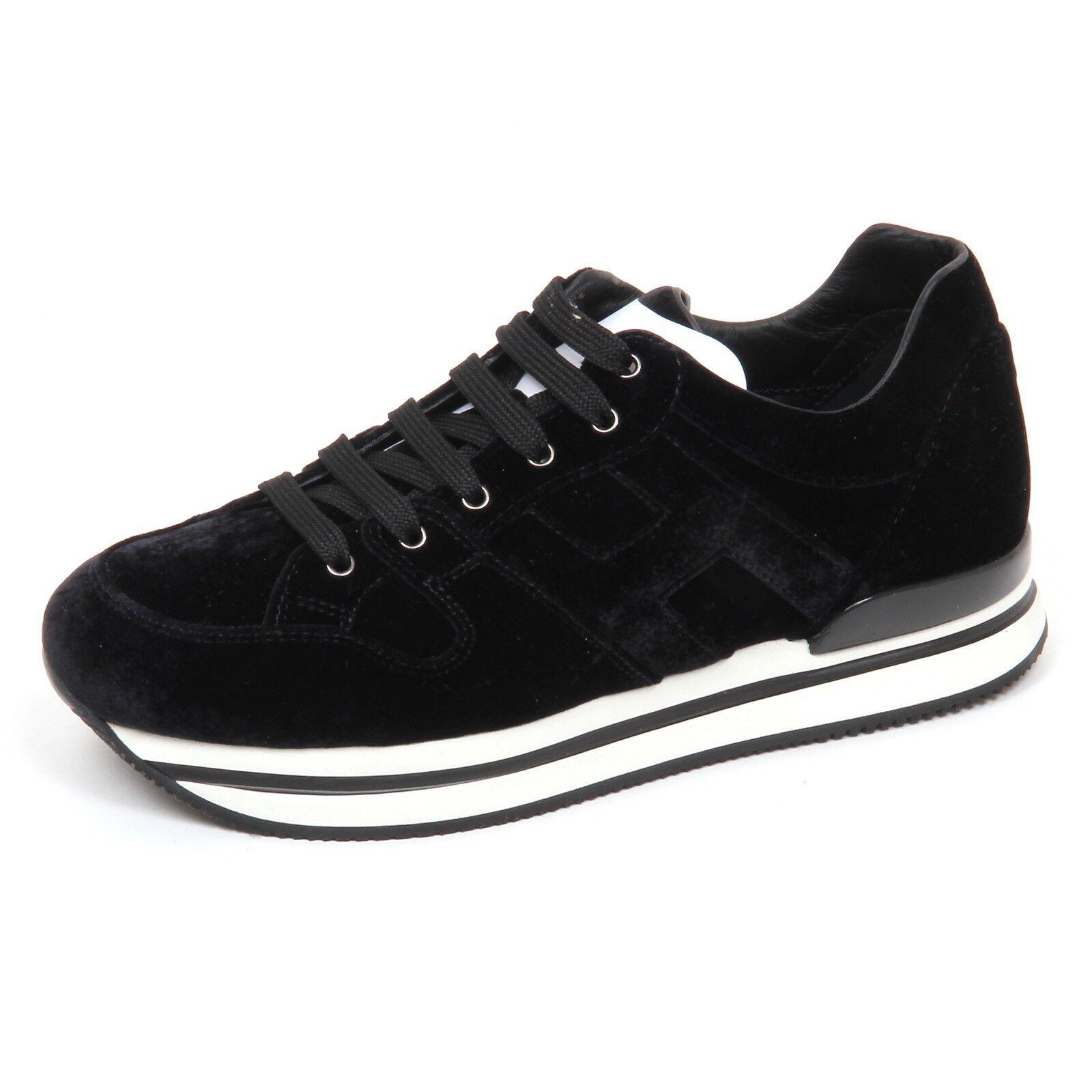 E2980 sneaker donna velvet HOGAN H222 scarpe  velluto shoe woman