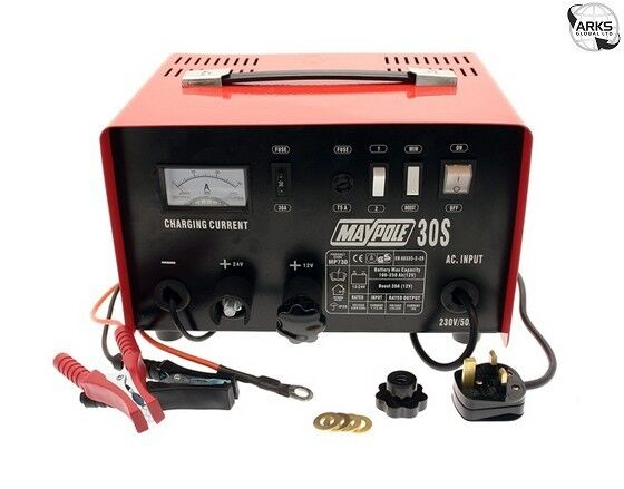 Battery Charger Metal 20A 12/24V - 730
