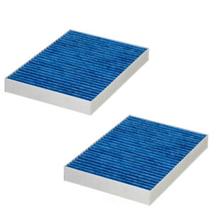 Fits Mercedes X166 GL350 ML63 AMG Set of 2 Cabin Air Filters Hengst E3909LC-2