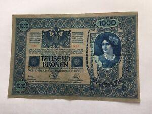 Billet-Autriche-1000-Kronen-1902